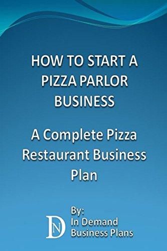 pizza restaurant business plan