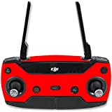 MightySkins Skin For DJI Spark Mini Drone Controller – Solid Red | Protective, Durable, and Unique Vinyl Decal wrap cover | Easy To Apply, Remove, and Change Styles | Made in the USA