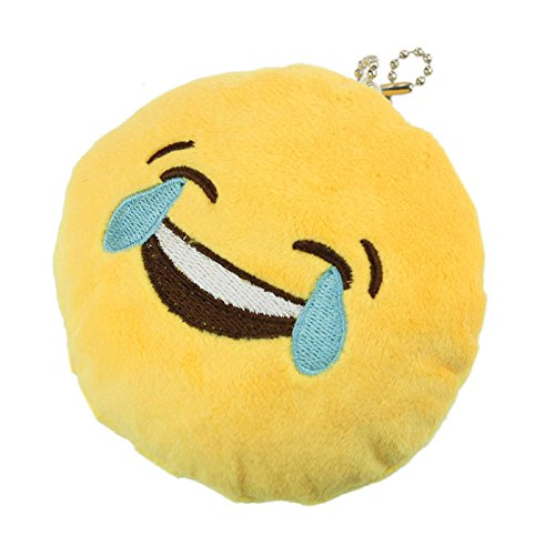 iPhone Emoji Keychain - Laughing with Tears Face | Free Gift | FREE FAST Shipping from USA ()