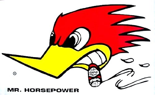 2 Clay Smith Mr Horsepower Car Truck Decals / Stickers