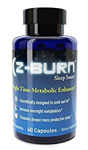 Z-burn -- 60 Capsules -- Night Time Fat Loss Supplement - Sleep Great, Lose Weight! Guaranteed Results by Fitness One Formulas