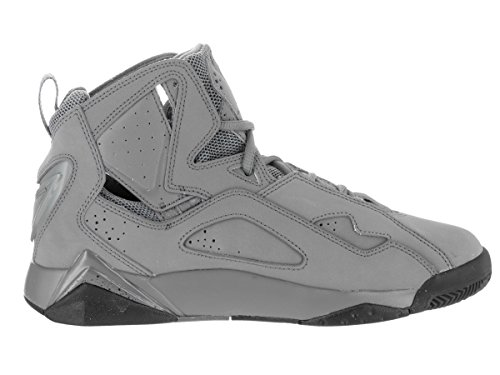 Herren Jordan True Flight Basketball-Schuh, grau - Cool Grey/Black - Größe: 42,5 EU (M)