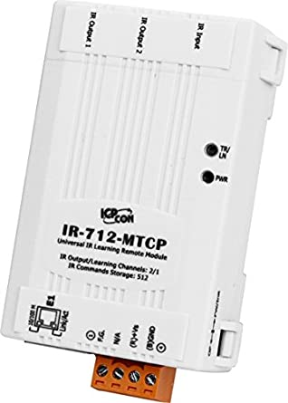 ICP DAS USA ICP-IR-712-MTCP Universal IR Learning Remote