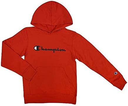 Champion Kids Clothes Sweatshirts Boys Youth Heritage Fleece Pull On Hoody Sweatshirt with Hood