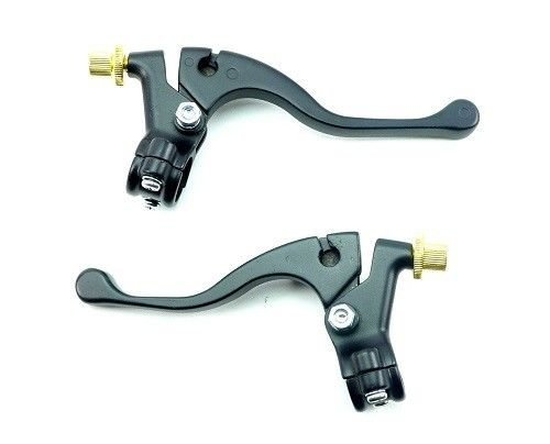 Boss Bearing 32-73600 6E4 Universal Brake Clutch Lever and Perch Set 7/8