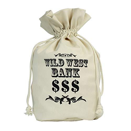 Canvas Money Wild West Money Bag (Wild West) -
