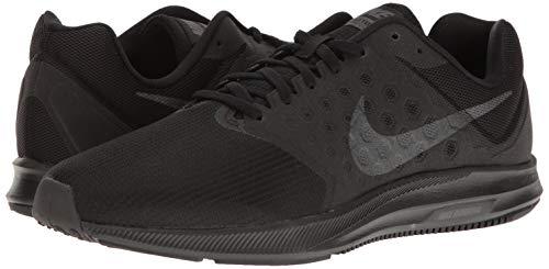 Pictures of NIKE Men's Downshifter 7 Running Shoe 852459 Black/Metallic Hematite/Anthracite 4