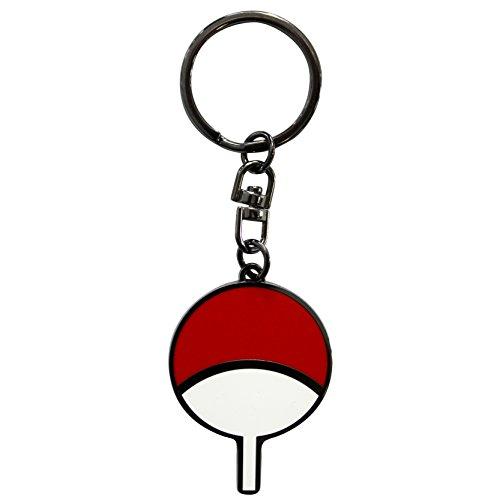 ABYstyle abykey151Naruto Shippuden Uchiha Symbol Keyring (Naruto Symbol Keychain)