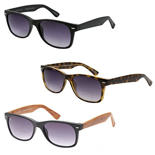 gamma-ray-3-pack-of-vintage-style-bifocal-sunglasses-200-magnification-readers-w-gradient-lens-uv400