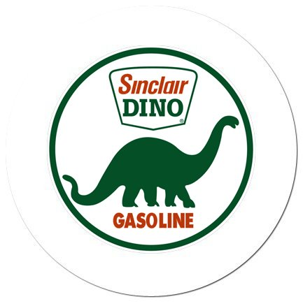 Novelty Magnet Featuring the Dino Gas Theme