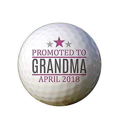 GiftsForYouNow Promoted to Grandpa Personalized Golf Ball Set