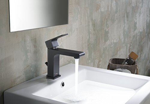 Stufurhome ST5001MB Monty Single Hole Faucet, Matte Black by Stufurhome (Image #9)