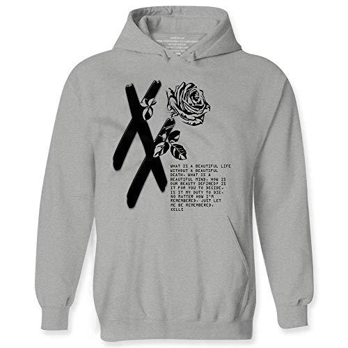 wintertee MGK T XX Shirt Flower Black Rose for Men Women Rap Devil Hoodie
