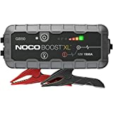NOCO Boost XL GB50 1500 Amp 12-Volt UltraSafe Lithium Jump Starter For Up To 7-Liter Gasoline And 4-Liter Diesel Engines