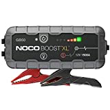 NOCO Boost XL GB50 1500 Amp 12-Volt UltraSafe Portable Lithium Car Battery Jump Starter Pack For Up To 7-Liter Gasoline And 4-Liter Diesel Engines: more info