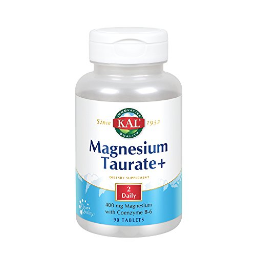 Kal Magnesium Taurate Plus Tablets, 90 Count