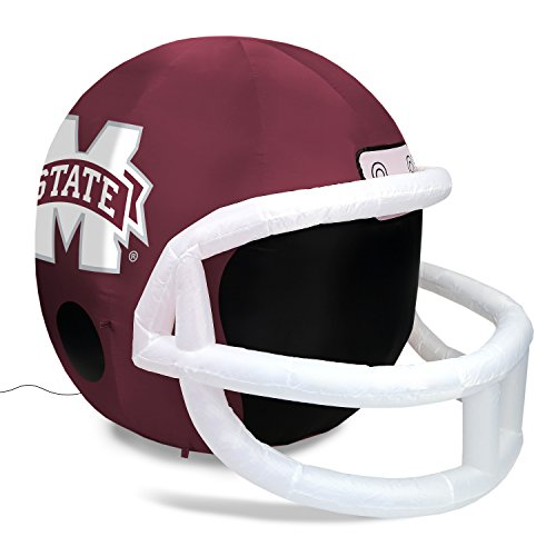 Fabrique Innovations NCAA  Inflatable Lawn Helmet, Mississippi State Bulldogs