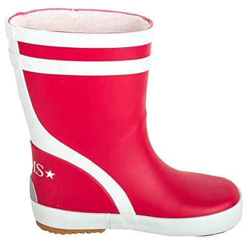 BMS Bottes en caoutchouc rouge taille 20 - Rouge - Rouge, 21