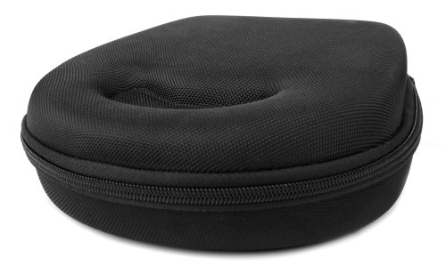 DURAGADGET Hard 'Shell' EVA Headphone Case  - Compatible wit