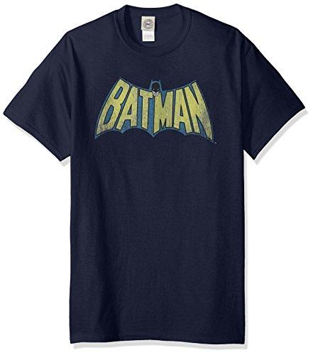 DC Comics Men's Batman Classic Batman Logo T-Shirt