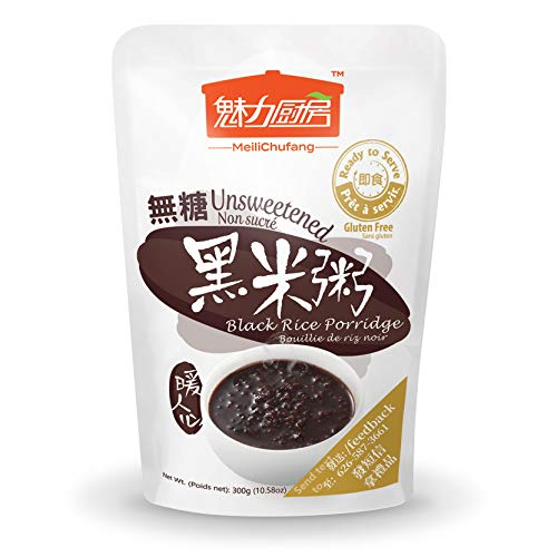Price comparison product image Tohkin Food USA Ready-to-serve Black Rice Porridge Unsweetened,  Box (300g x 9 pouch)