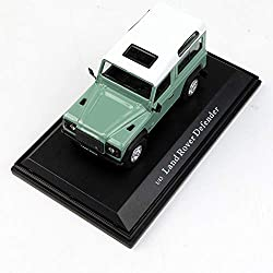 GYZS-TOY 1:43 Land Rover Defender 110 Light Green Strong Off-Road Vehicle Simulation Car Model Decoration from GYZS-TOY