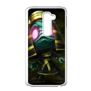 LG G2 Cell Phone Case White League of Legends Amumu 006 SH3092249