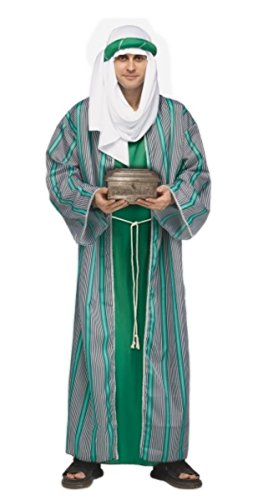 Wise Men Christmas Costume (3 Wise Men Costumes - Christmas Nativity - Green)