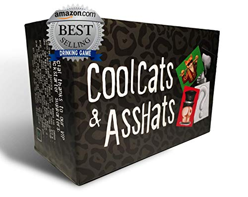 Halloween Party Games For Young Adults (CoolCats & AssHats - The Funnest Adult Party / Drinking Card)