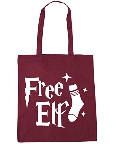 Elf 42cm Burgundy litres Shopping Beach HippoWarehouse Tote Gym 10 Bag x38cm Free 0HSnqxx5