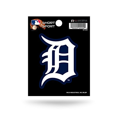 Detroit Tigers Decals (MLB Detroit Tigers Short Sport Decal)