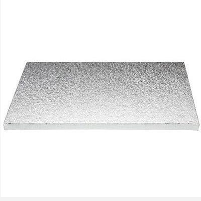 13mm Cake Board Oblong//Rectangle Silver thick  Drum all sizes