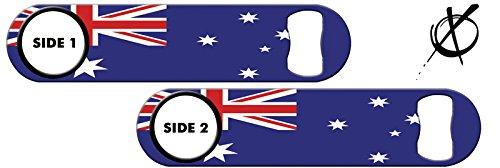 Killer Inked Bottle Opener: Australia Flag