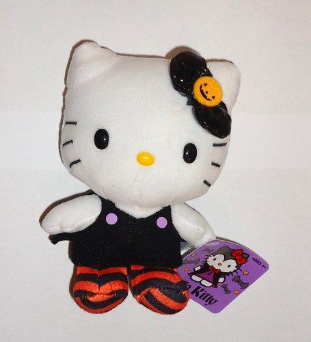 Halloween 2013 Hello Kitty 5 Inch Plush Pumpkin Bow by (Hello Kitty Halloween Pumpkin)