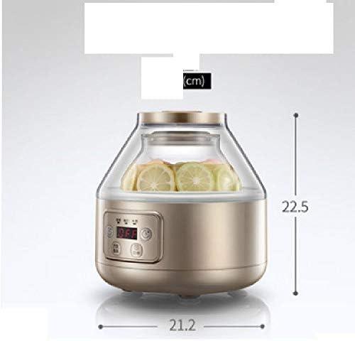 Lcxliga Machine de yogourt - Cuisine Machine yogourt - Machine yogourt numérique Automatique, réglage de température (110-240)