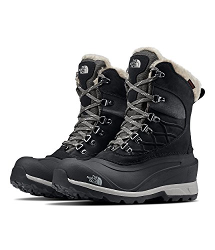 The North Face Chilkat 400 Boot - Women's TNF Black/Zinc Grey, 7.5