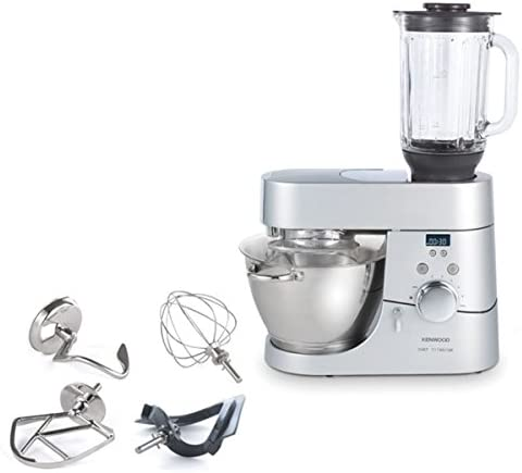 Kenwood Chef Titanium temporizador kmc070 + Molinillo de hierbas y especias at 320b: Amazon.es: Hogar