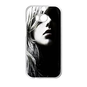 Beautiful Cool Face HTC ONE M8 Case Customize Parttern Design - Hard Plastic Cover Case Protection for plastic HTC ONE M8 Case