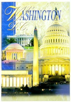 Washington DC Coffee Table Picture Book and Giude, Washington DC souvenirs, Washington DC Gifts
