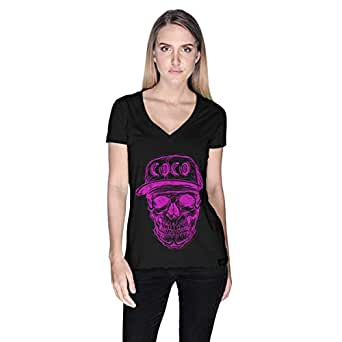 Creo Coco Skullt-Shirt For Women - M, Black