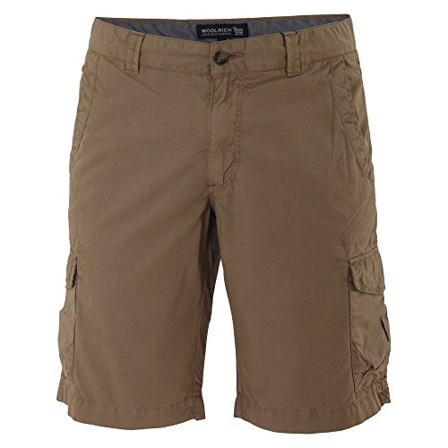 Woolrich Uomo Shorts Cotone Marrone Wosho0383ri027257 4ZZH1XqgB