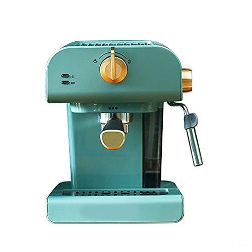 PPBB Cafetera Espresso, Máquina de café Retro hogar pequeño Completo semiautomático Italiano Comercial Vapor Integrado…