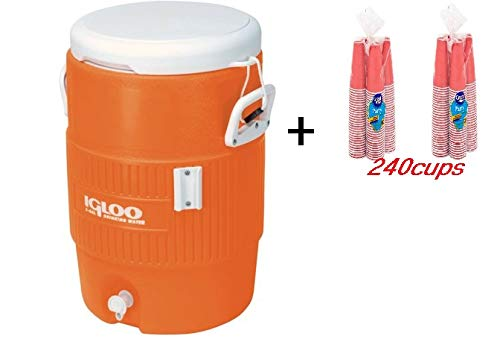 5 gallon water cooler red - 5