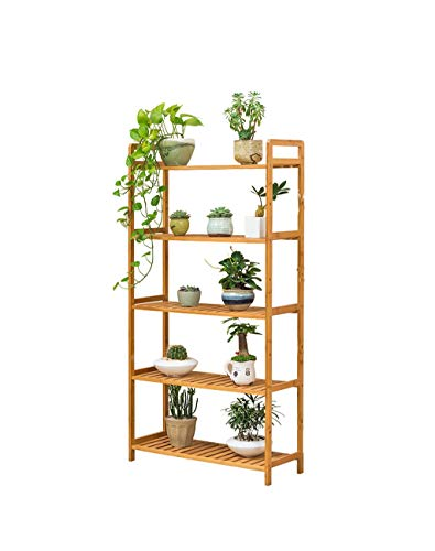 Bamboo Flower Stand Plant Display Stand Interior Y Exterior Flower ...