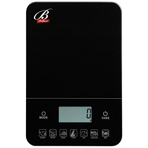 Digital Multifunction Food Kitchen Scale Tempered Glass