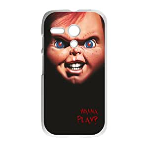 Character Scary Phone Case Chucky Scary Doll For Motorola G NC1Q01943