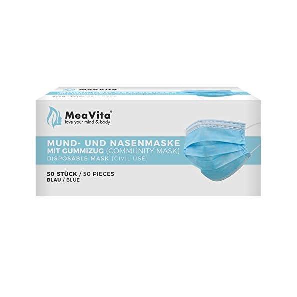 MeaVita-Mund-und-Nasenmaske-50er-Pack-Einweg-Maske-3-lagig-Gummizug