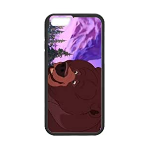 iPhone6 Plus 5.5 inch Phone Case Black Brother Bear Tug JHI2317633