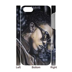 august alsina Discount Personalized 3D Cell Phone Case for iPhone 4,4S, august alsina iPhone 4,4S 3D Cover