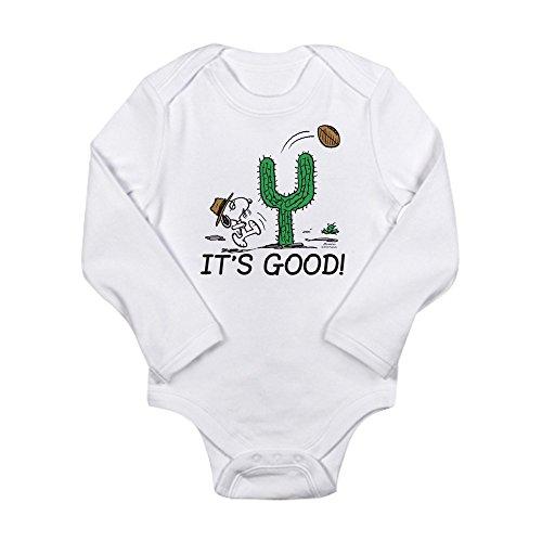 CafePress Peanuts Gang: Spik - Cute Long Sleeve Infant Bodysuit Baby Romper